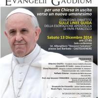 manifesto convegno Evangelii Gaudium