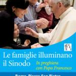 """Due pullman della Diocesi di Cerreto Sannita partecipano alla veglia di preghiera """"Le famiglie illuminano il Sinodo"""" con papa Francesco"""