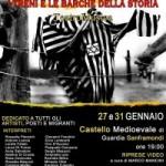 """Guardia Sanframondi. """"I treni e le barche della storia"""": Uno spettacolo di Teatro/Musica in atto unico per non Dimenticare."""
