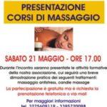 Telese Terme. Incontro di presentazione dei corsi di massaggio organizzati dall'Associazione Fior di Loto