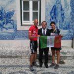 «Love Wheels 646» Giuseppe Campochiaro e Giovanna Napolitano sono a Lisbona. Pronti alla partenza per gli USA