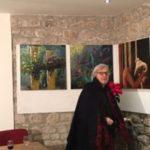 Guardia Sanframondi. Vittorio Sgarbi visita la Casa di Bacco