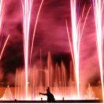 Paupisi. Attesa per lo show delle fontane danzanti e fuochi piromusicali