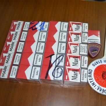 Smerciava sigarette di contrabbando:  denunciato dalla Polizia di Stato e dalla G.d.F