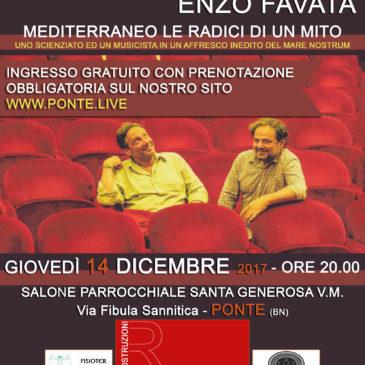 """Ponte: spettacolo """"MEDITERRANEO, LE RADICI DI UN MITO""""."""