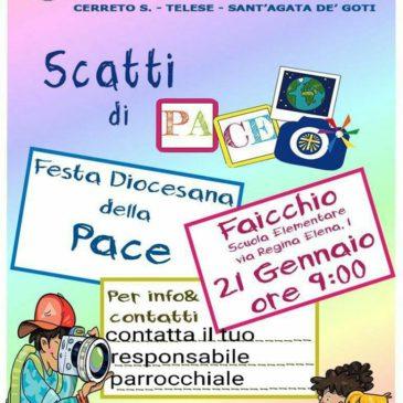 Acr, Festa diocesana della Pace domenica 21 gennaio a Faicchio
