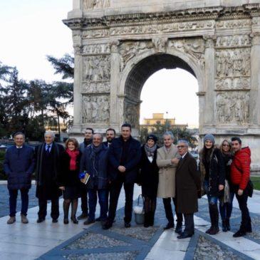 Il segreto di Traiano. Grande partecipazione all'incontro con Roberto Giacobbo autore e conduttore di Voyager