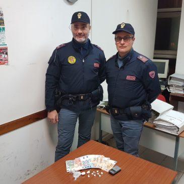 Benevento: pusher arrestato dalla Polizia