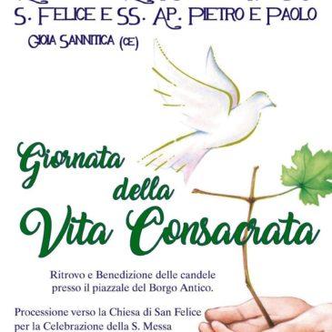 Ufficio Vita Consacrata, domani a Gioia Sannitica la Giornata Diocesana della Vita Consacrata