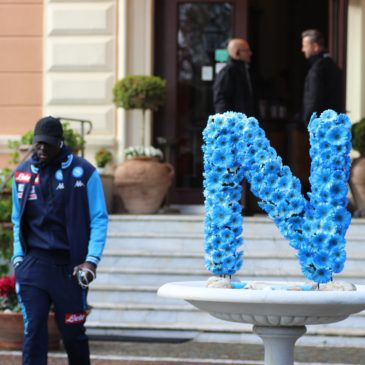Il Napoli al Grand Hotel di Telese, una vetrina importante per tutto il territorio