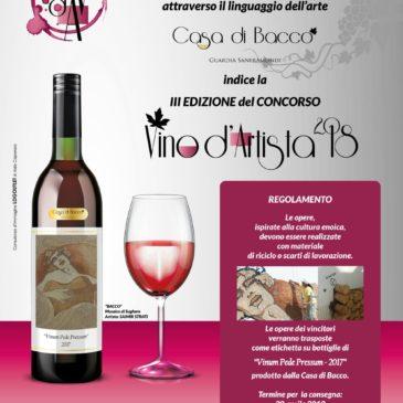 Guardia Sanframondi: Al via la 3° edizione del Vino d'Artista