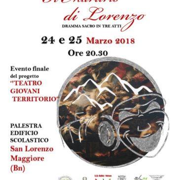 """San Lorenzo Maggiore. Torna il dramma sacro """"Il Martirio di Lorenzo"""""""