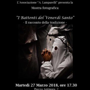 """San Lorenzo Maggiore. Mostra fotografica """"I battenti del venerdi' santo – il racconto della tradizione"""""""