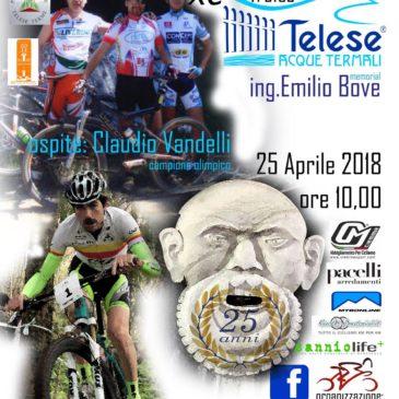 Trofeo Mountain Bike, a Telese arriva il campione olimpico Claudio Vandelli