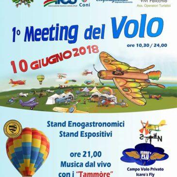 Faicchio: 1° Meeting del Volo con deltaplani, autogiri, elicotteri, droni e mongolfiere
