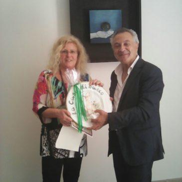 Guardia Sanframondi. Premio Bacco ai vincitori del concorso Vino d'Artista 2018