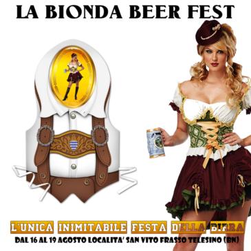 """Frasso Telesino: Festa della Birra """"La Bionda Beer Fest"""""""