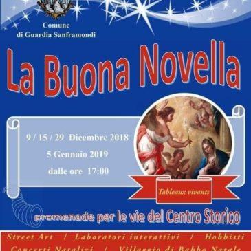 """Soffio Creativo vi aspetta a Guardia Sanframondi in occasione de """"La Buona Novella"""" all'interno dei mercatini di Natale"""