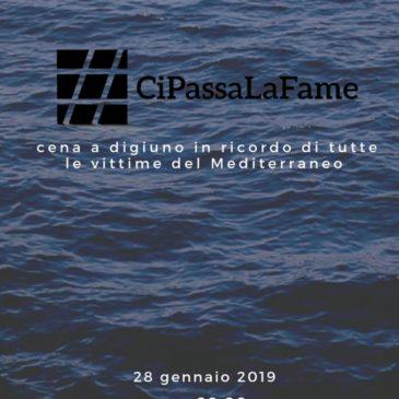CiPassaLaFame, Africa Mission e Centro Missionario Diocesano aderiscono alla giornata di digiuno per le vittime del Mediterraneo