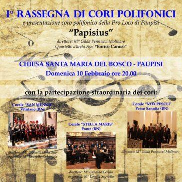 'Papisius', la nuova corale della Pro Loco Paupisi