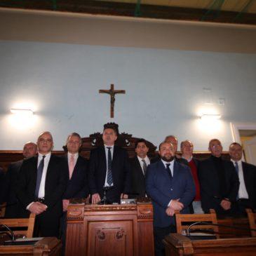 Si è insediato il nuovo Consiglio Provinciale di Benevento