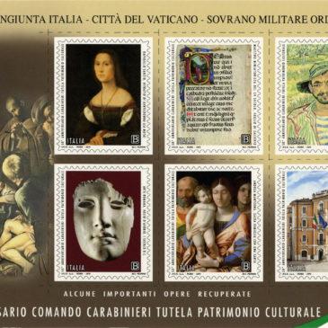 Emissione francobolli dedicati al Comando dei Carabinieri