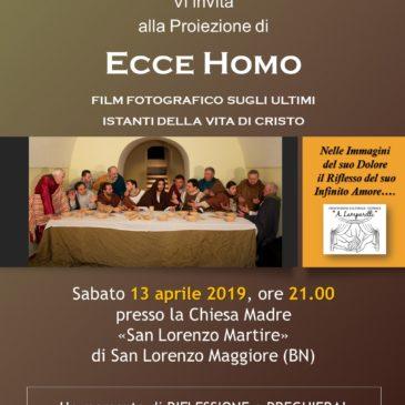 Ecce Homo – il Film Fotografico dell'Associazione Lamparelli