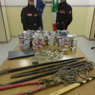 Ladri in fuga sulla Telesina, recuperata la refurtiva
