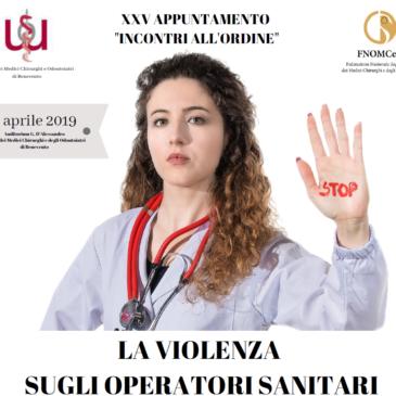 La violenza sugli operatori sanitari