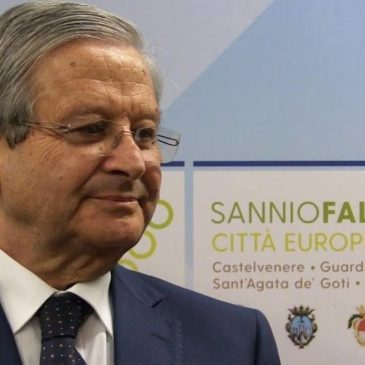 Sannio Falanghina, Premio VitignoItalia 2019 al sindaco Floriano Panza