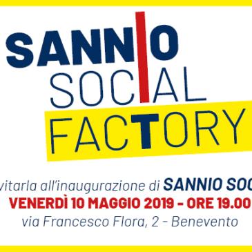 A Benevento nasce Sannio Social Factory, l'inaugurazione venerdì 10 maggio
