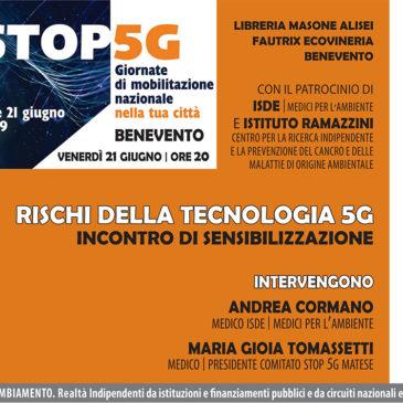I rischi della tecnologia 5G. Dibattito alla libreria Masone di Benevento
