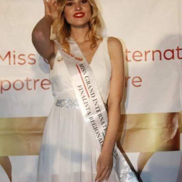 Anastasia Violante vince la prima tappa di Miss Grand Internation