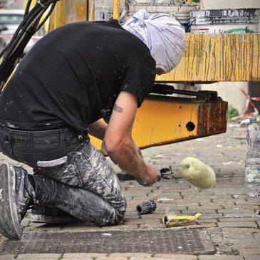 """A Napoli nasce il rione dei murales nel quartiere de """"L'Amica Geniale"""""""