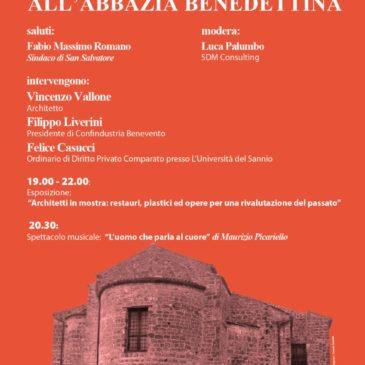 A San Salvatore Telesino per parlare di architettura