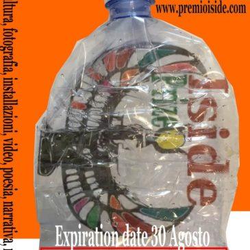 """Pubblicato il bando della  VII° edizione del premio Internazionale Iside.  Questa volta il tema sarà """"l'Arte contro la plastica""""."""