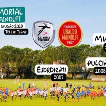 "Memorial ""Ubaldo Mainolfi"", la carica di 300 calciatori in erba colorerà Telese Terme"