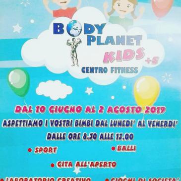 Telese Terme. Body Planet KIDS centro Fitness