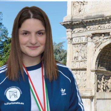 L'Università Giustino Fortunato accoglierà la studentessa maria varricchio medaglia di bronzo alle universiadi