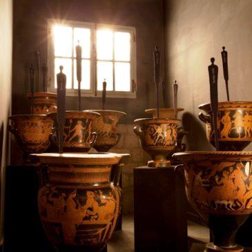 Museo del Sannio Caudino di Montesarchio, nuovo allestimento: Rosso Immaginario_Il Racconto dei vasi di Caudium.