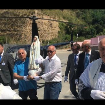 Ponte. Folla di fedeli per la Madonna di Fatima