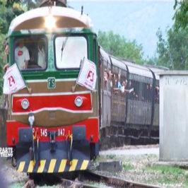 Un treno speciale Benevento-Pietrelcina-Assisi