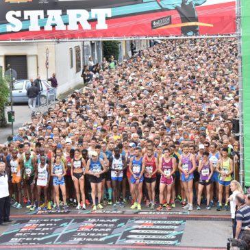 QUINTA TELESIA HALF MARATHON corsa Internazionale su strada,  domenica 6 Ottobre a Telese Terme, oltre 2000 al via