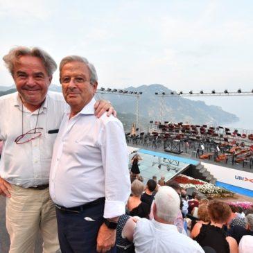 Sannio Falanghina, presentata l'etichetta di Mimmo Paladino al Ravello Festival