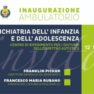 A Puglianello inaugurazione  ambulatorio NPIA
