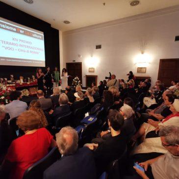 Il sindaco Mario Scetta a Roma per presentare 'Sannio Falanghina' al XIV premio internazionale di poesia e narrativa dell'IPLAC