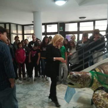 Presentato al De La Salle il riciclo nell'ambito del premio internazionale Iside