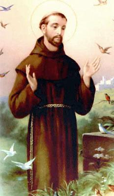Oggi San Francesco d'Assisi, patrono d'Italia