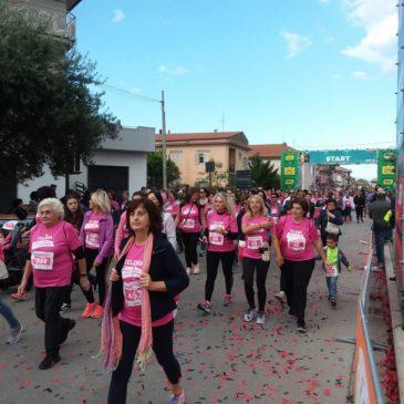 La 3^ PINK RACE, vincere si può. L'evento in rosa nell'ambito della TELESIA HALF MARATHON