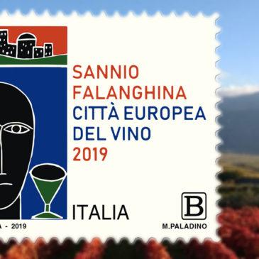 Immagini dal Sannio: il francobollo celebrativo di Sannio Falanghina